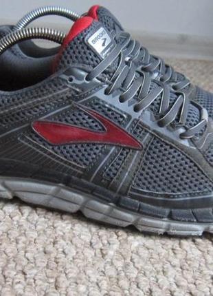 Беговые серые мужские кроссовки brooks 43 р, кросовки оригинал