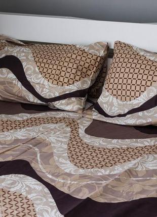 Постельное белье - двуспалка на змейке, лучший подарок ко дню рождения.