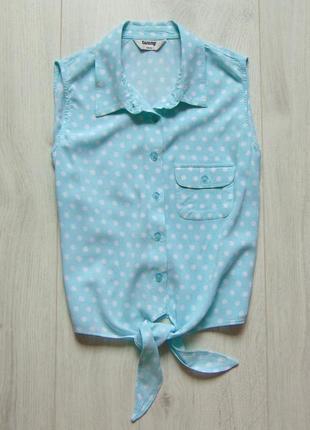Стильная блуза-топ для девочки. tammy. размер 14 лет