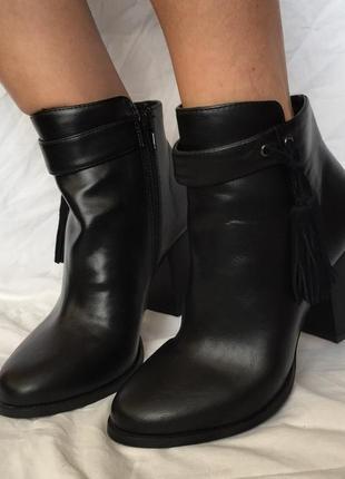 Осенние сапожки/ботинки на каблуке