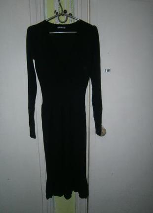Шикарное теплое вискозное платье
