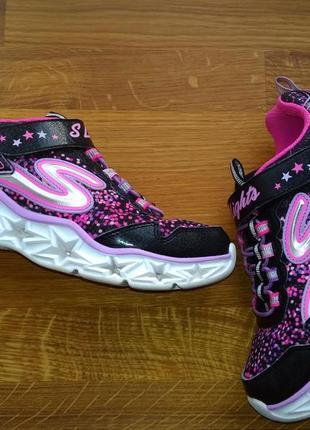 6a0666787264 Мигающие кросовки  кросовки для девочки eur 33 размер 20,5 см с огоньками  skechers