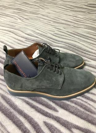 Новые мужские туфли trussardi jeans