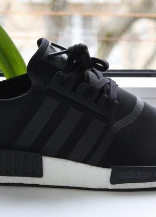 Кроссовки adidas nmd_r1 core black adizero (46.5р.) оригинал!! -25%
