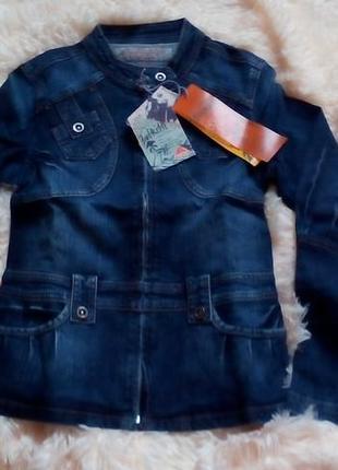 Джинсовая куртка новое