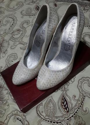 Шикарные свадебные,выпускные,вечерние туфли