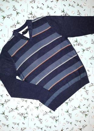 -50% на 2-ю единицу модный фирменный свитер george, размер 48 - 50