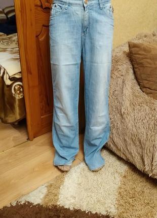 Стильные светлые джинсы, 100% коттон
