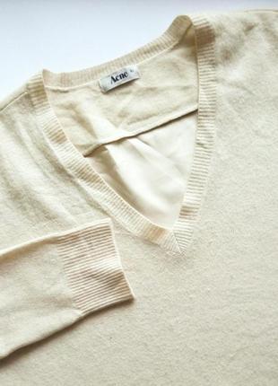 Удлиненный свитер от acne
