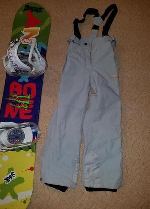 Сноубордические штаны, горнолыжные