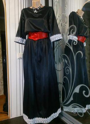 Платье в горох, 46-50 р !