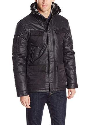 Куртка calvin klein тёплая, 100% коттон оригинал из сша