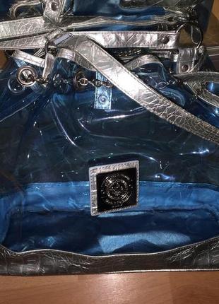 Прекрасная пляжная прозрачная сумка)