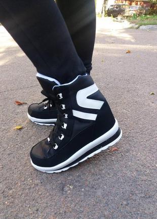 36р. теплые зимние ботинки,сапоги,дутики. украина