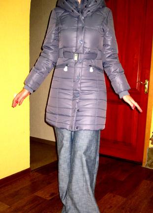 Куртка junker , раз l ,цвет серо-голубой