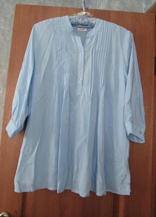 Комфортная рубашка на каждый день от damart р.20 4xl. лучшая цена!
