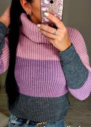 Скидки! свитер  тёплый 40-46. много расцветок количество ограниченно