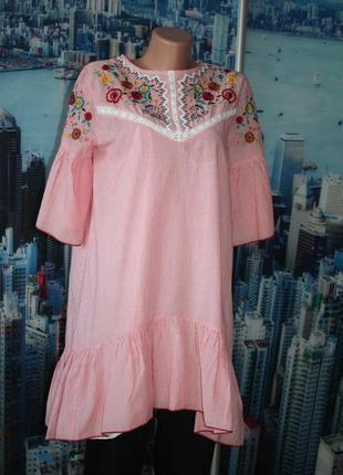 Платье туника 100% котон