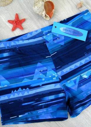 Плавки мужские atlantic beach голубые