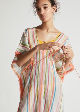 Разноцветная полосатая туника oysho оригинал из испании