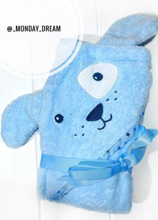 Полотенце primark для купания малыша