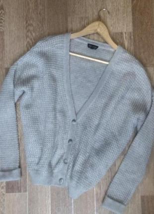 Ангоровая кофта свитер оверсайз