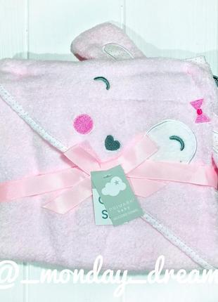 Полотенце для девочек для купания