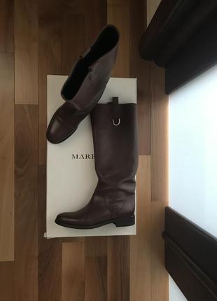 Сапоги коричневый marella размер 39