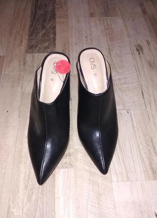 Модные туфли мюли