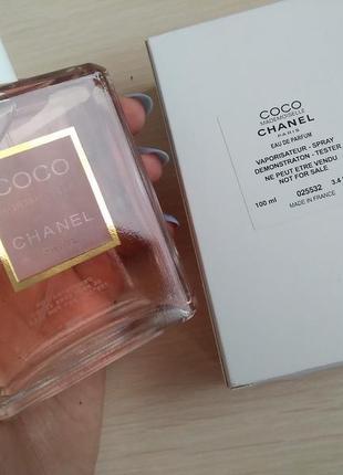 "!!!акция!!! ""chanel coco mademoiselle"", edр, тестер, 100мл."