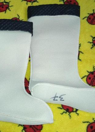 Вставка (утеплитель, носок, вкладка) в резиновые сапоги 37р1 фото