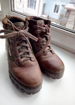 Ботинки зимние fila