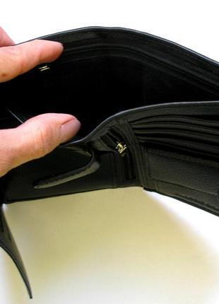 Vip кожаный кошелек портмоне бумажник, 100% нат. кожа ската + телячья, доставка бесплатно5 фото
