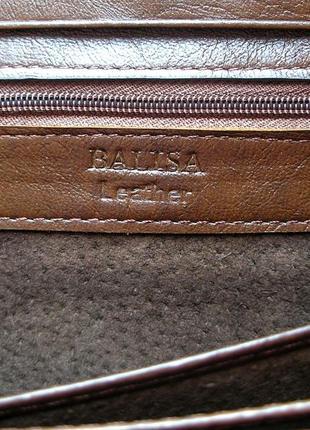 Большой кожаный кошелек кофейная роза, 100% натуральная кожа, есть доставка бесплатно5 фото
