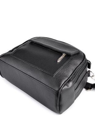 Маленькая сумка портфель с ручкой и ремешком через плечо кроссбоди5 фото