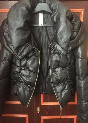 Куртка с объемным воротником waggon paris