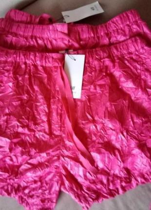 Подиумные шорты,h&m studio,размеры 40-42,44-46, 48-50,46-48(34,38,40,42)3 фото
