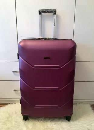 Акция! чемодан большой wings. польша! бордо