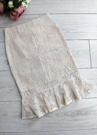 Гипюровая женская юбка. распродажа