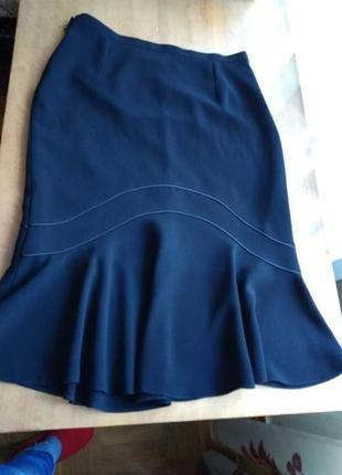 Новая  шикарная фирменная  юбка классика годе ,  хл