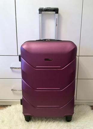 Акция! чемодан средний wings. польша! бордо