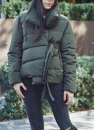 Куртка-одеяло на завязках синтепон