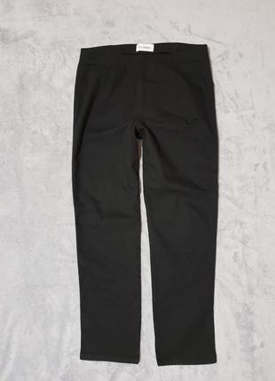 Классические черные лосины/ брюки /штаны/