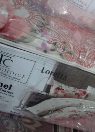 Фланелевое постельное белье first choice flanel loretta (евро)2
