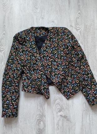 Стильний короткий піджачок-куртка