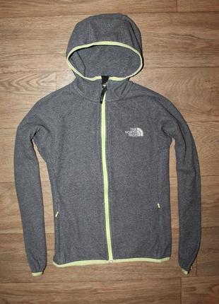 Замечательная оригинальная толстовка the north face fleece hoodie women s размер