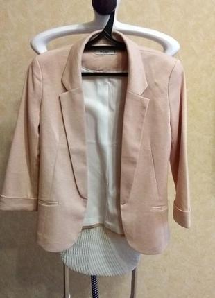 Пиджак пудровый colin's2 фото