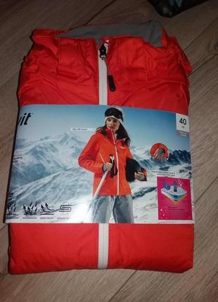Женская мембранная лыжная термо курточка crivit sports