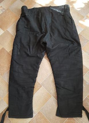 Мужские брюки ватные тёплые