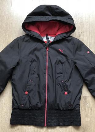 Спортивная куртка puma размер s в идеале